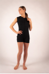 Combishort Ballet Rosa Misao black