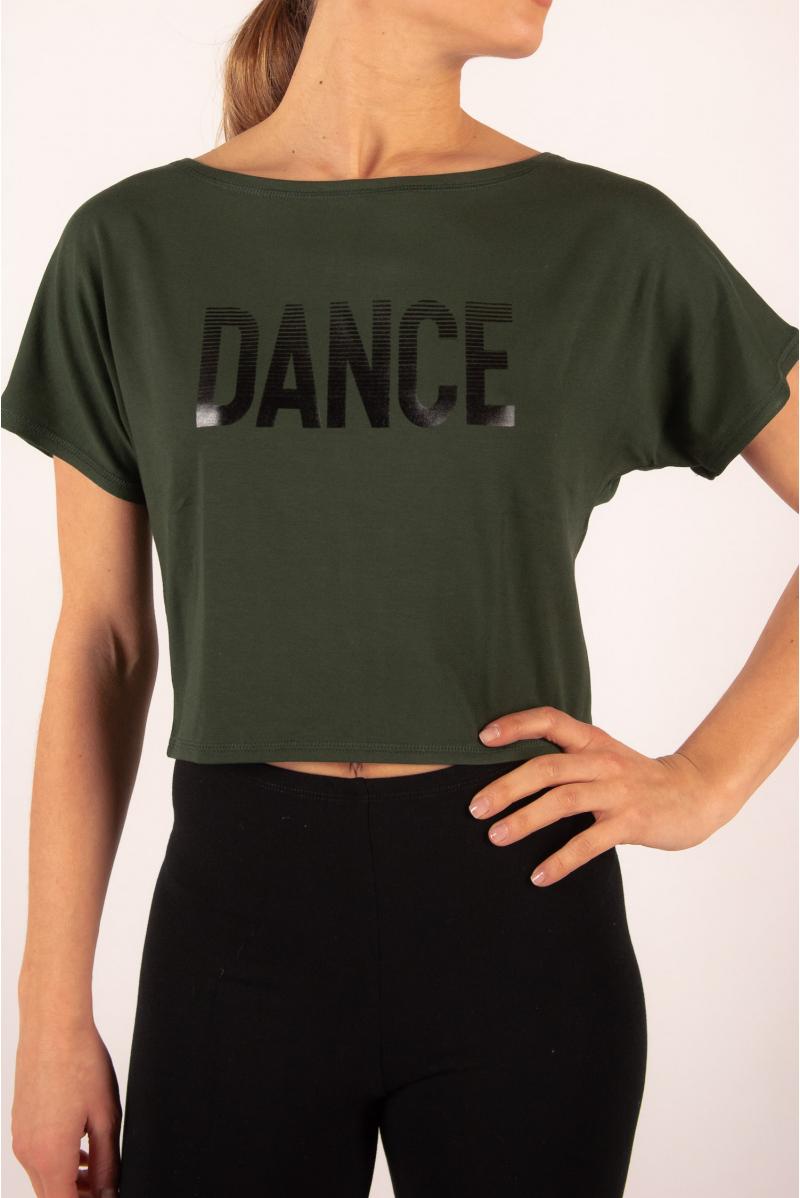 Temps danse Agile Mirror short jungle t-shirt