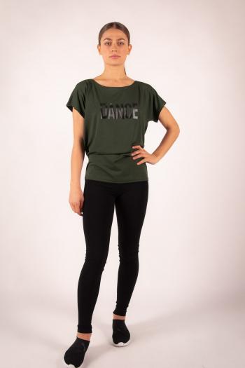 T-Shirt Temps danse Ava Stripes Jungle
