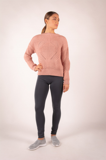 Pull en maille Repetto blush W0671