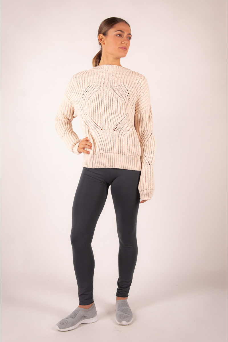 Repetto knit sweater W0671 ivory