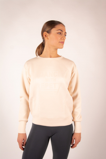 """Sweatshirt """" Dance with Repetto"""" Pink S0457N"""
