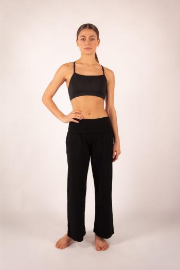 Pantalon large 7/8e Temps Danse Akila noir