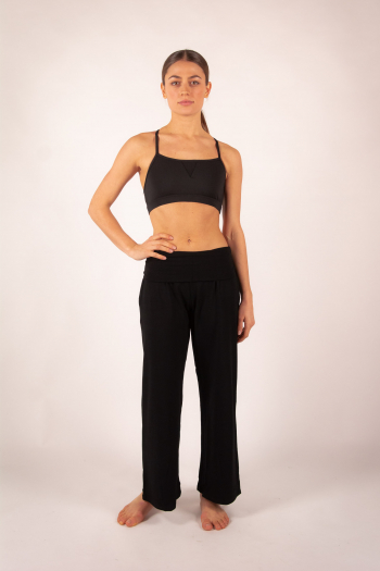 Wide Pants 7/8th Temps Danse AKILA black