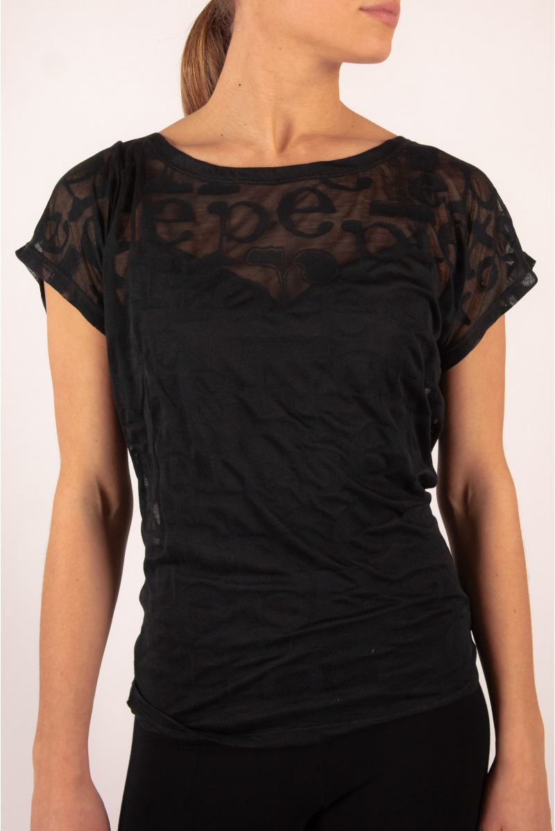 Repetto Black pink T Shirt D0708