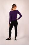 Marion Absolut Cashmere T-shirt eggplant color