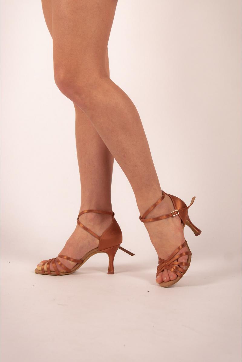 Chaussures de danse Rummos R332 Satin TAN 60R