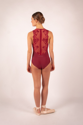 Leotard Ballet Rosa Esther burgundy