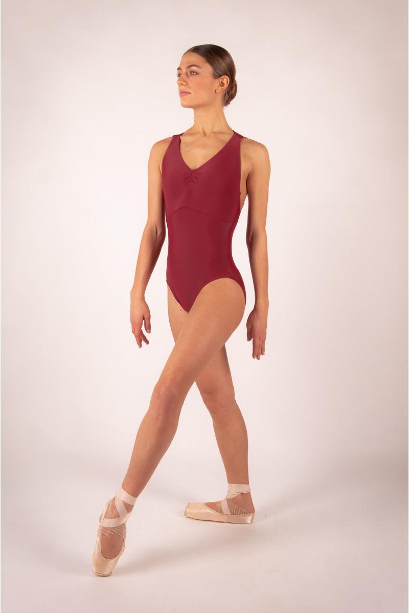 Justaucorps Ballet Rosa Esther bordeaux