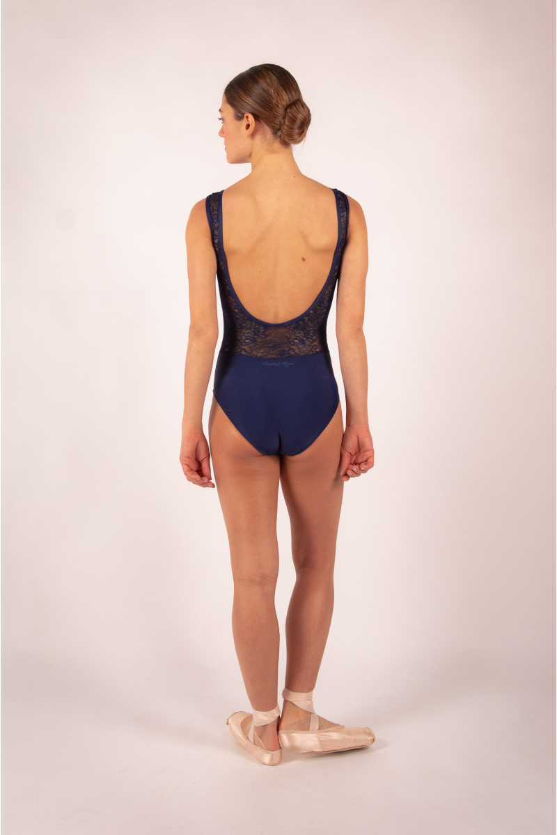 Leotard Ballet Rosa Inaya navy