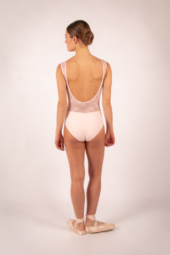 Leotard Ballet Rosa Inaya Powdered