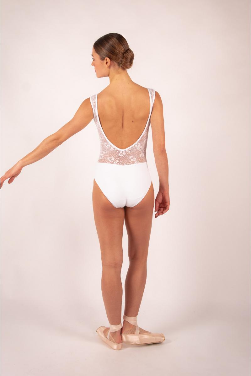 Leotard Ballet Rosa Inaya White