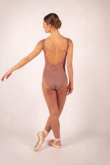 Justaucorps Ballet Rosa Inaya Café au lait