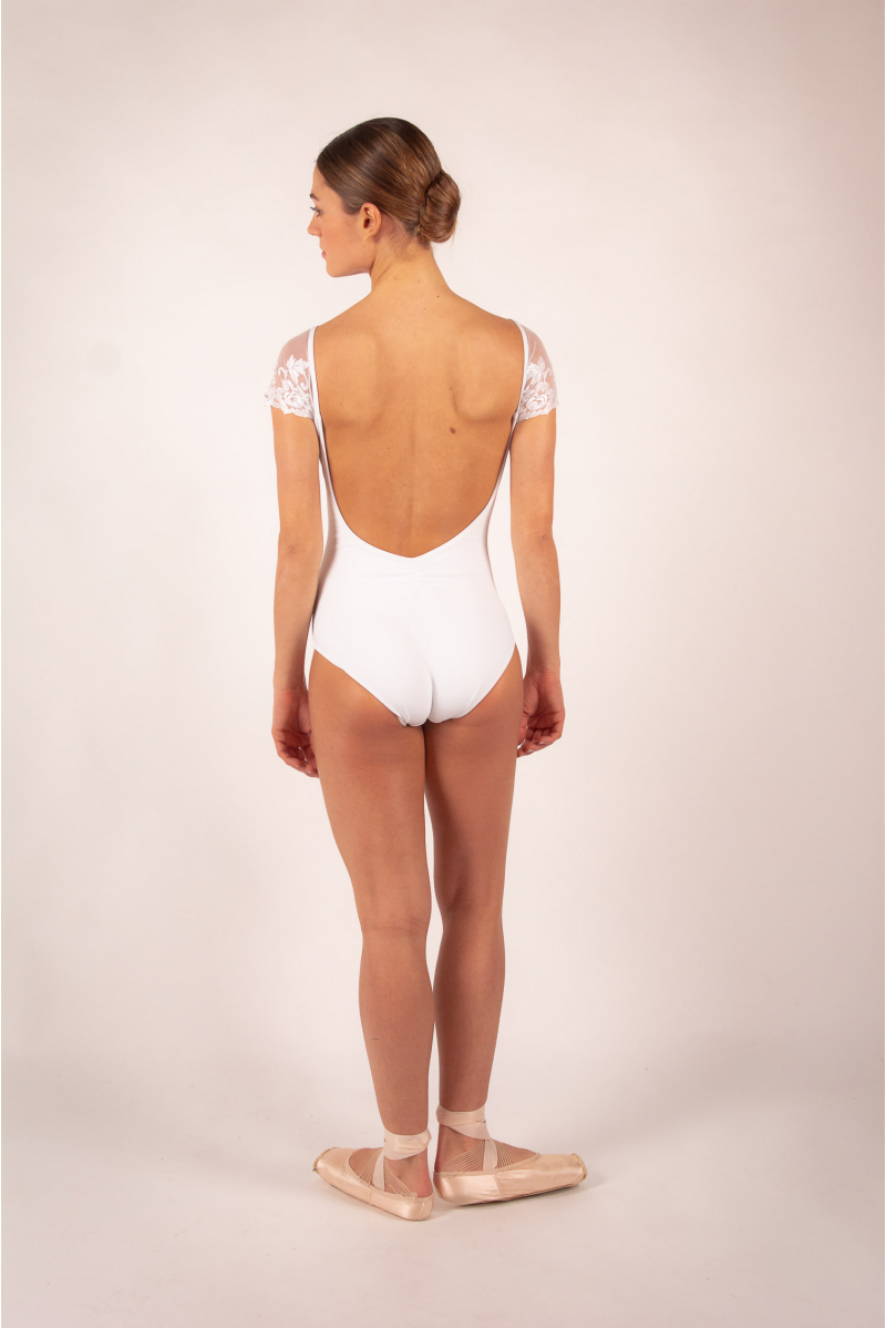 Ballet Rosa leotard for women Josephine white