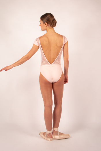 Leotard Ballet Rosa Maeva powdered