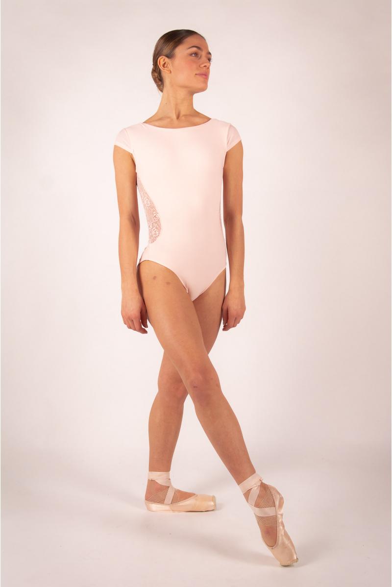 Leotard Ballet Rosa Maeva powdered