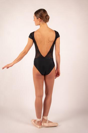 Justaucorps Ballet Rosa Maeva noir