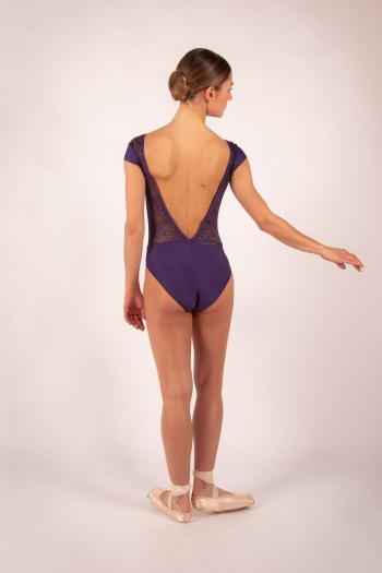 Justaucorps Ballet Rosa Maeva prunus