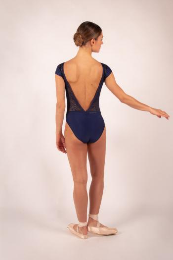 Justaucorps Ballet Rosa Maeva marine