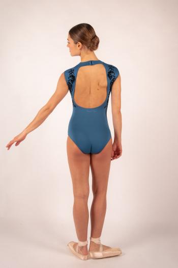 Justaucorps Ballet Rosa Orialie encre blue