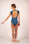 Leotard Ballet Rosa Orialie blue ink