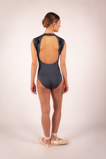 Justaucorps Ballet Rosa Orialie gris