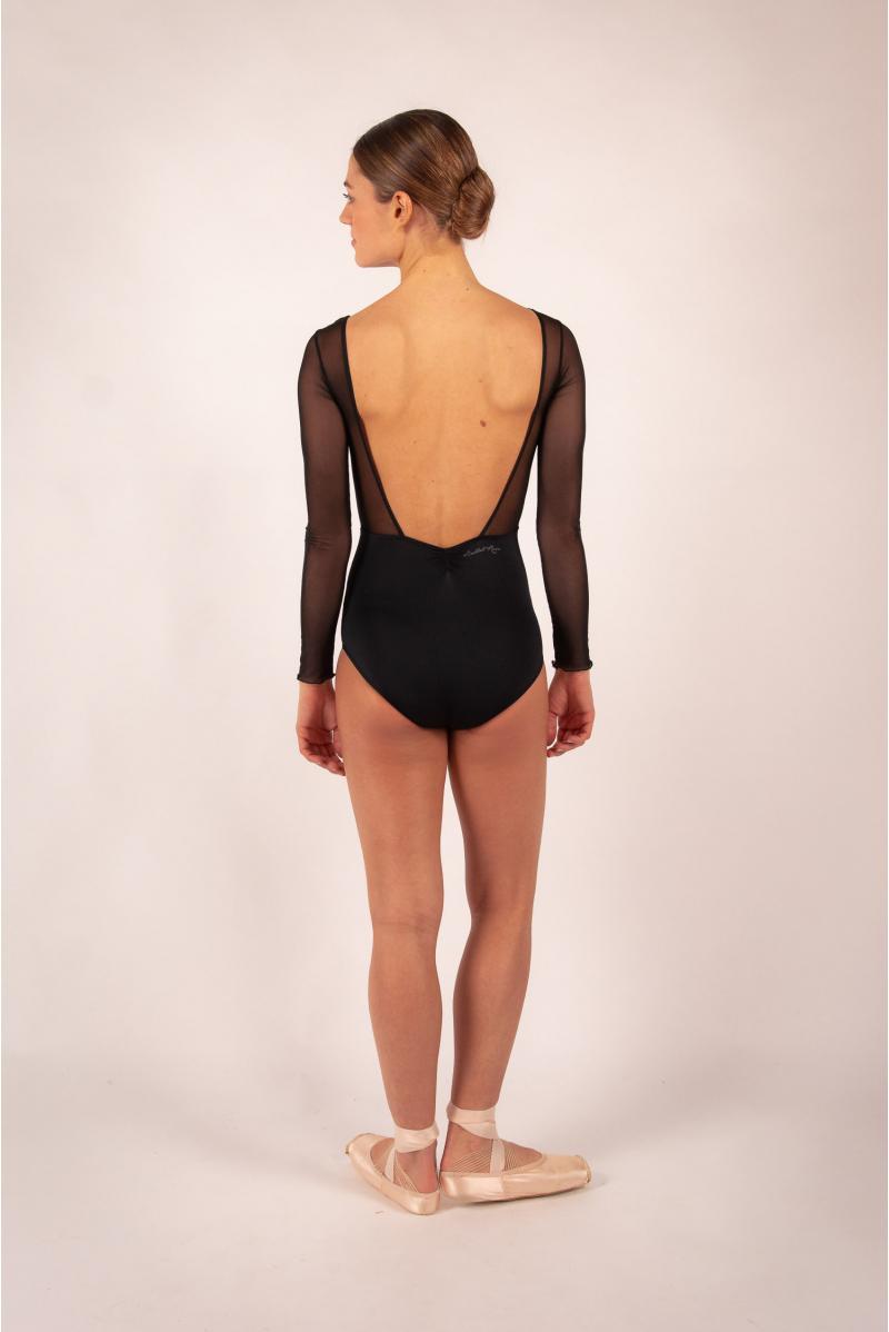 Leotard Ballet Rosa Shirley noir