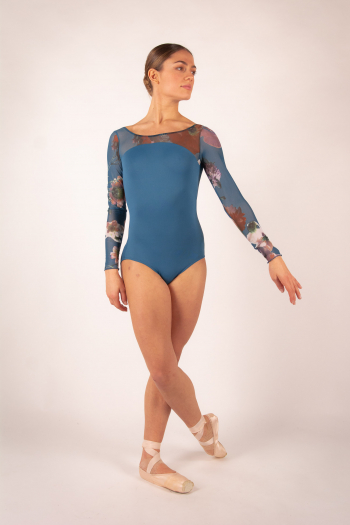 Justaucorps Ballet Rosa Serene encre bleu