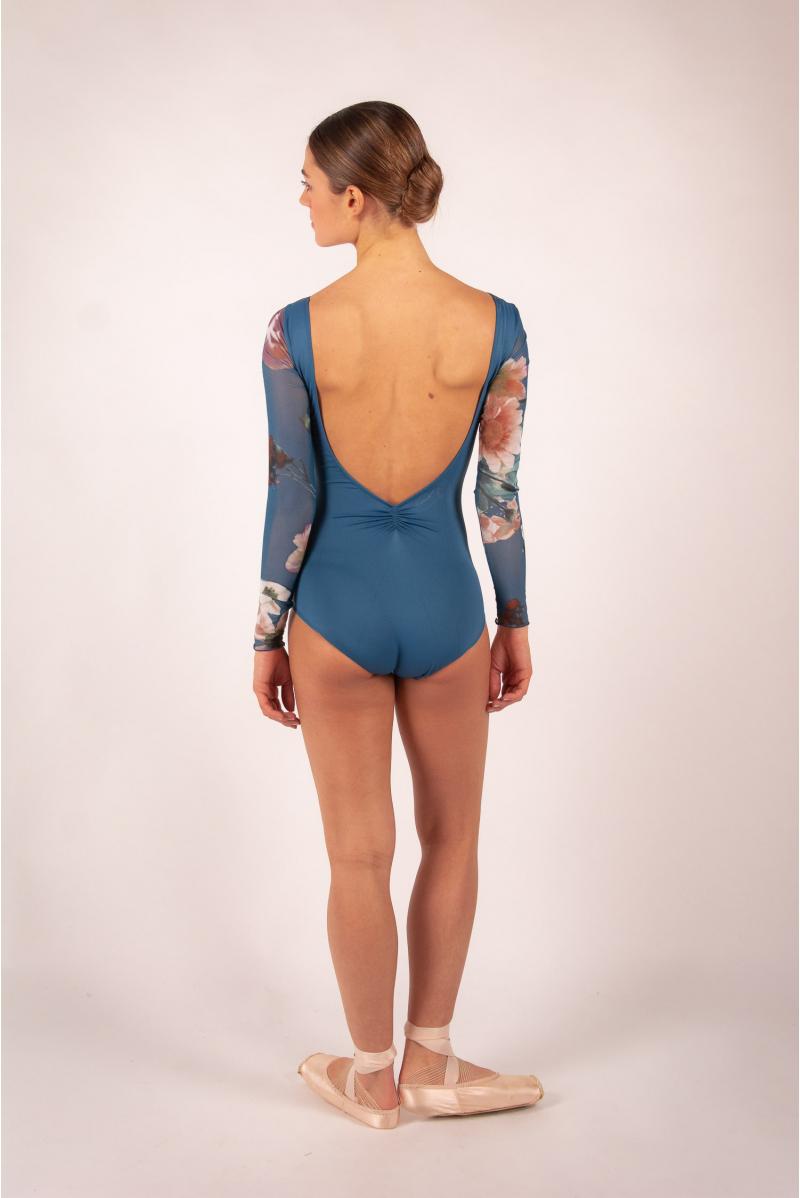 Leotard Ballet Rosa Serene encre blue