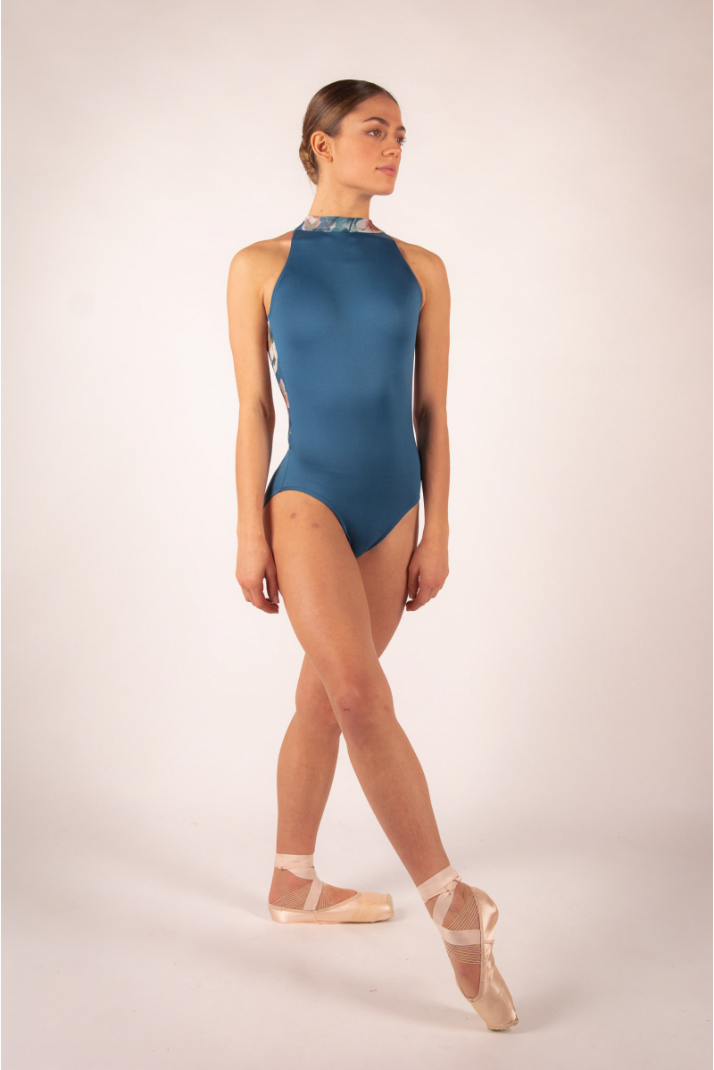 Leotard Ballet Rosa Riley blue ink