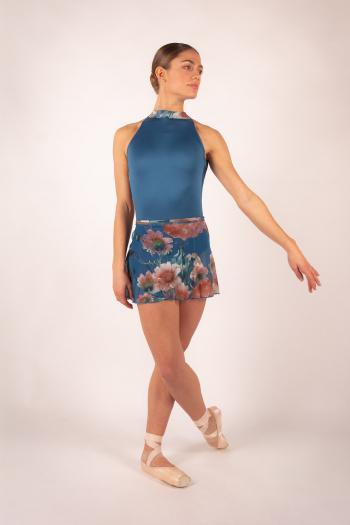 Jupette Ballet Rosa Candide encre blue
