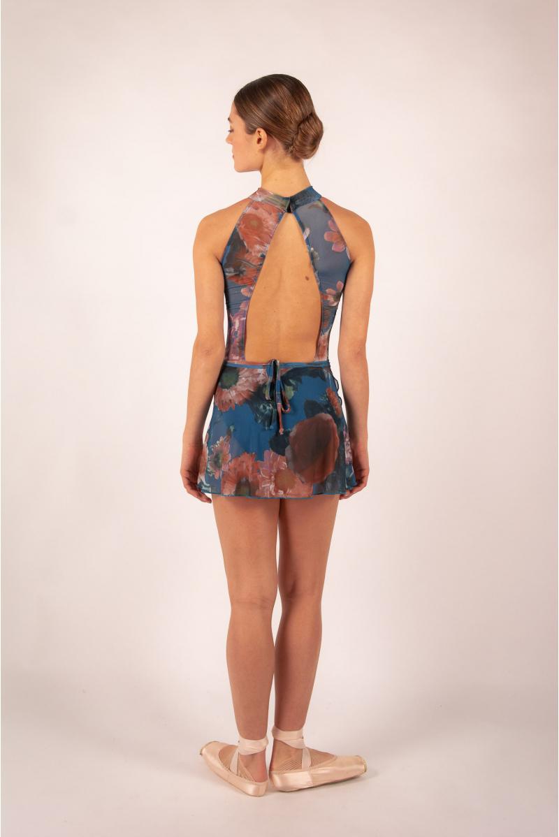 Skirt Ballet Rosa Candice encre blue