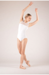 Justaucorps dentelle Ballet Rosa Rita blanc