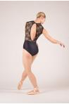 Justaucorps dentelle Ballet Rosa Rita Noir