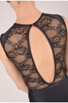 Ballet Rosa black lace women leotard