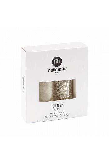 Boxed set 2 pure color nail polish Victoria/Lucia Nailmatic
