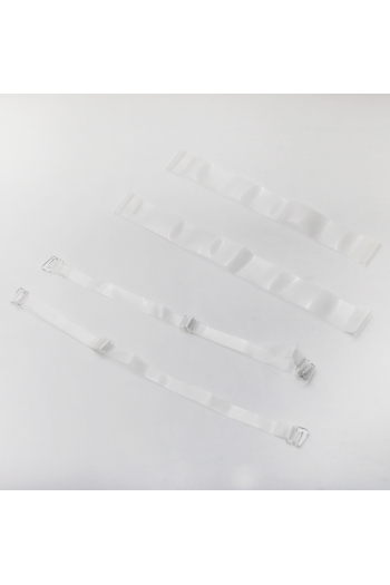 Transparent straps kit