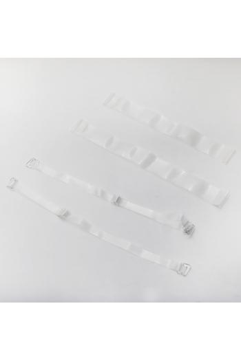 Lot de bretelles transparentes