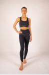 Yoga bra Yuj Anahata black gold