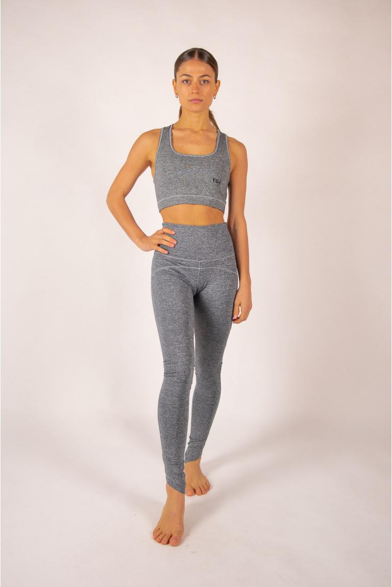 Yoga bra Yuj Ajna grey mottled