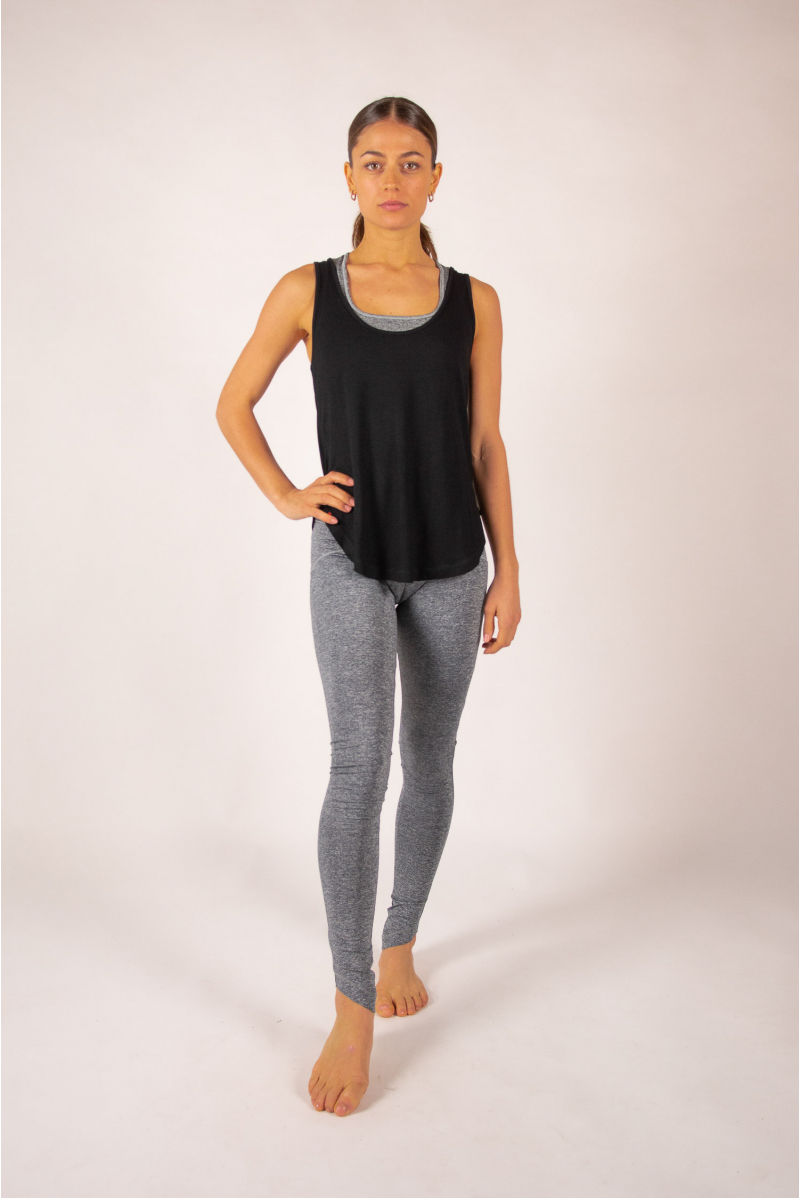 Black Maevy Coco Bamboo Tank Top