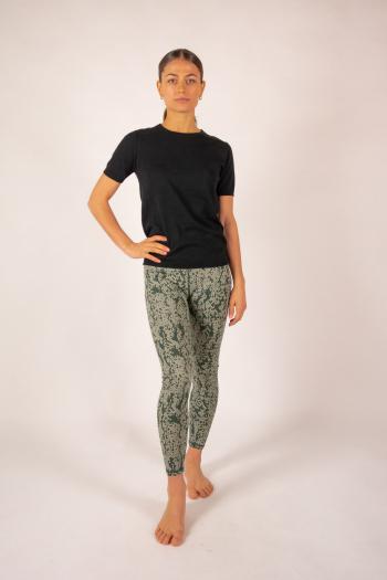 T-shirt coton cachemire Luna Absolut Cashmere noir