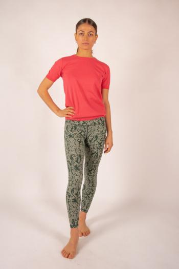 T-shirt coton cachemire Luna Absolut Cashmere bonbon