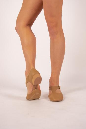 Chaussures de professeur bi-semelle Dansez-Vous Eva