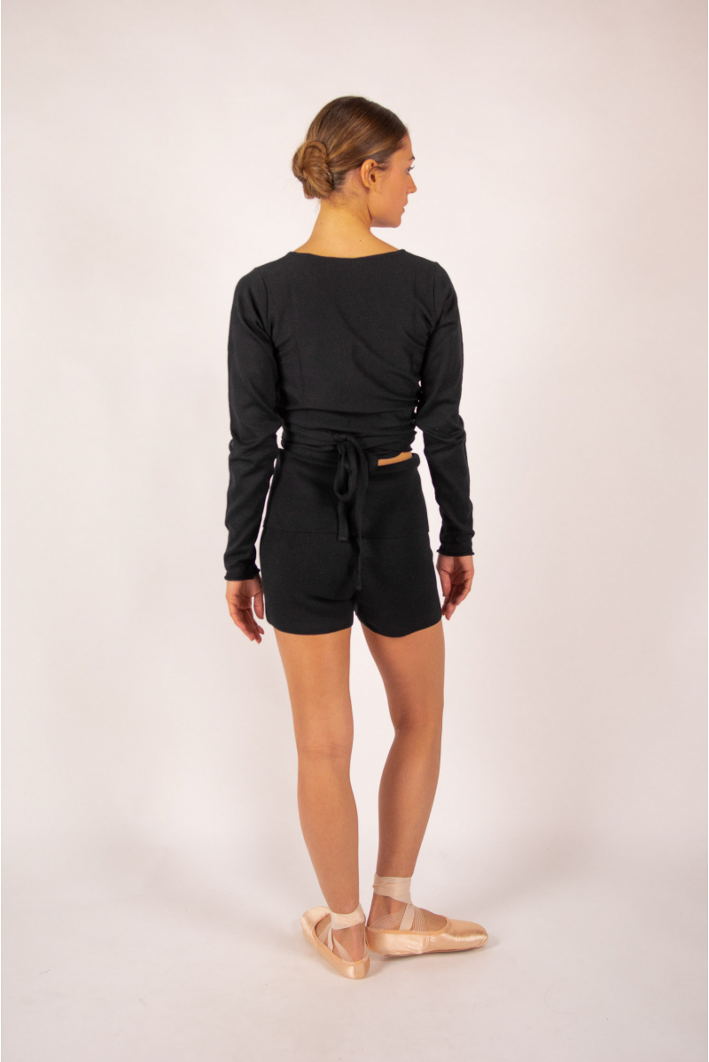 warm up Repetto short knit D0693