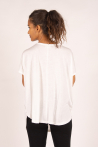 Bamboo Maevy Parfait white oversize top