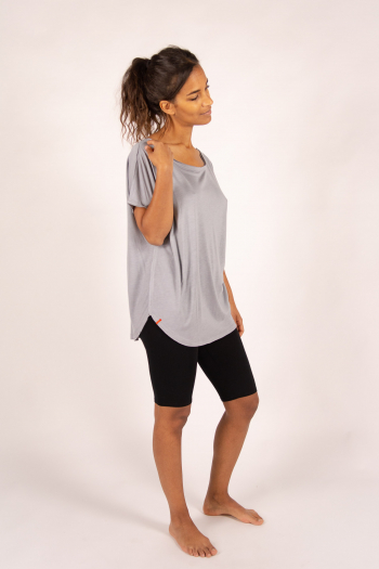 Bamboo Maevy Parfait grey oversize top