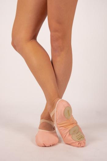 Ballet shoes Sansha Vegan bi-sole pink women