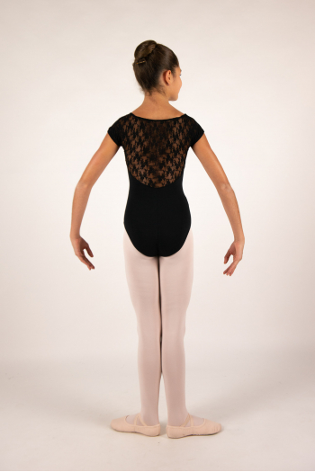 Intermezzo 31125 child black lace leotard
