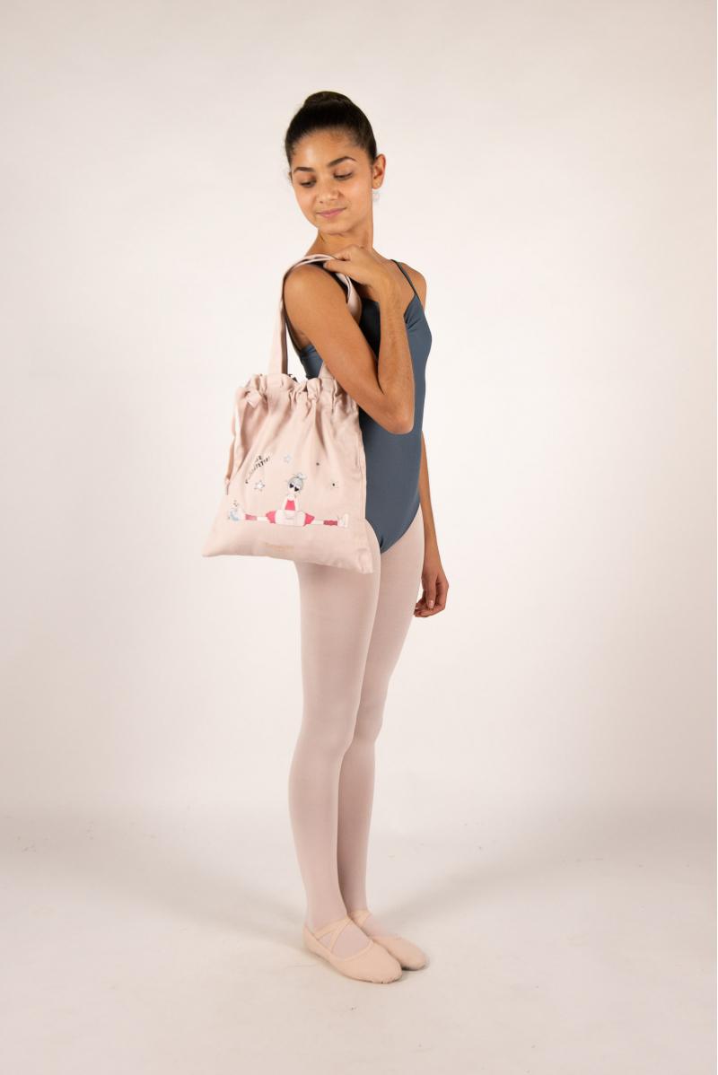 Shopping bag knots Repetto Zizi Pink B0351T